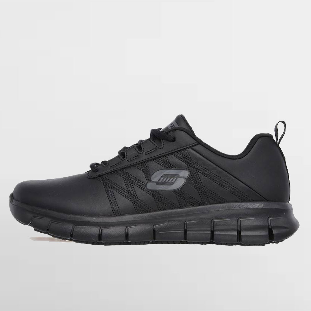 SKECHERS CALZADO  W. WORK RELAXED FIT (CERTIFICADO) - 76576EC BLK