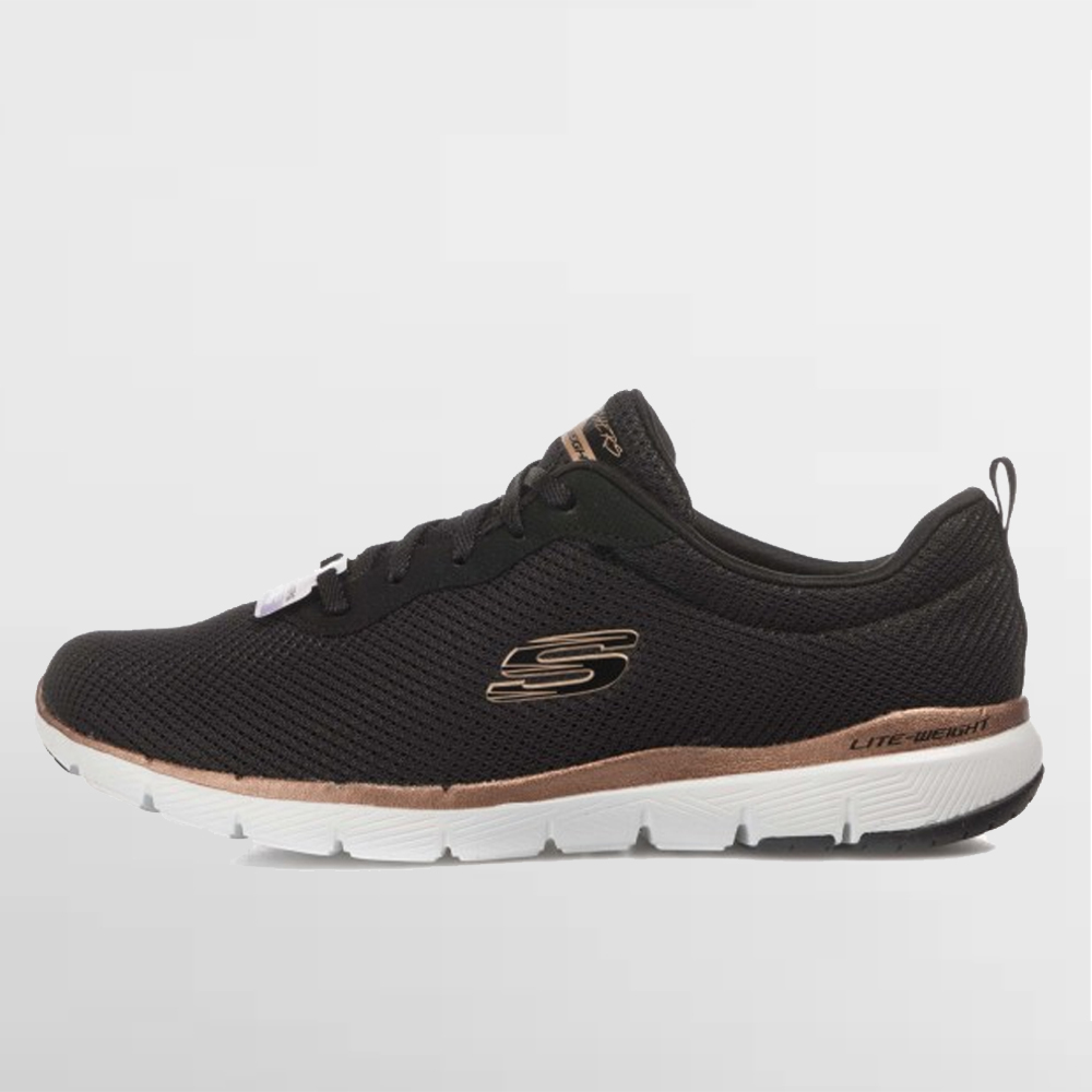 SKECHERS CALZADO W. FLEX APPEAL 3.0 FIRST - 13070 BKRG