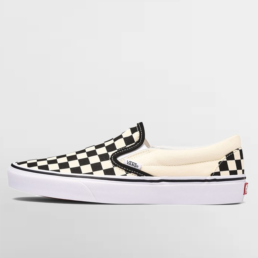 VANS CHECKERBOARD CLASSIC SLIP-ON - VEYEBWW1