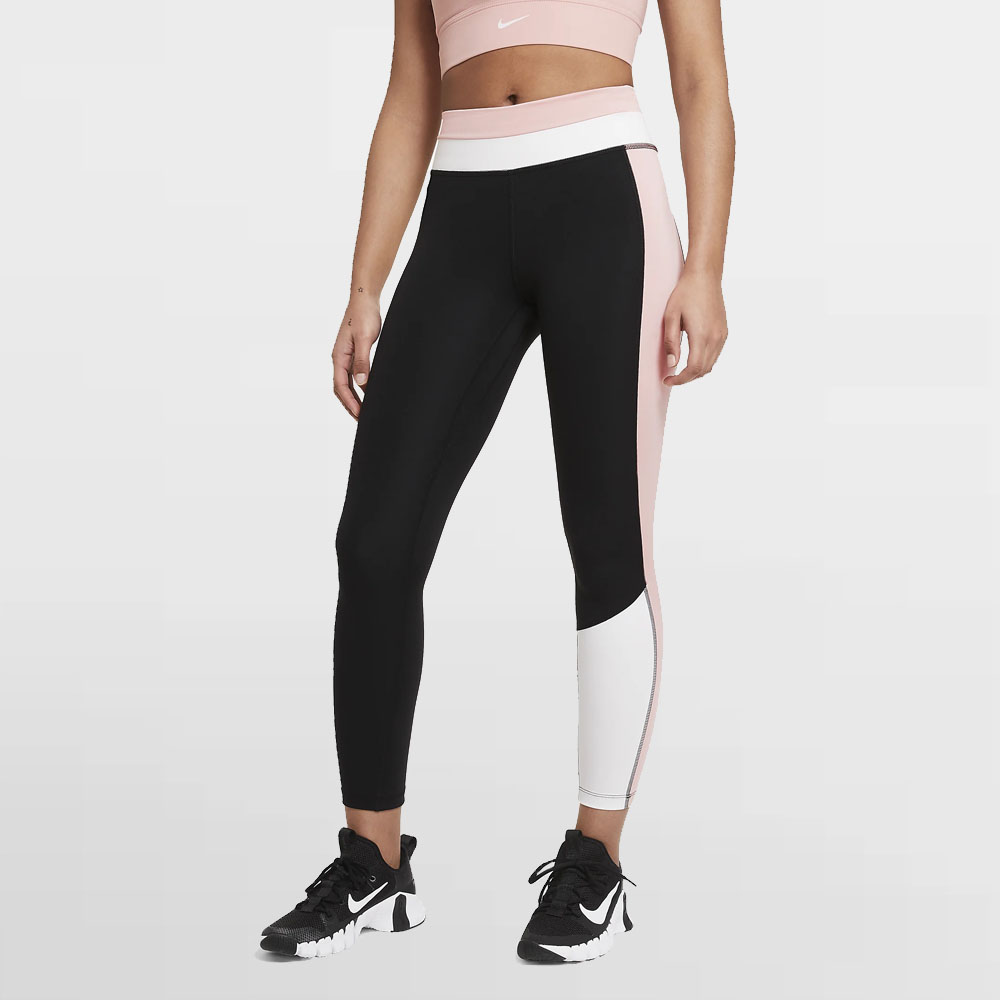 NIKE LEGGING W. ONE COLOR BLOCK 7/8 - CZ9198 010